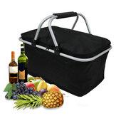 IPRee™30LFoldingCampPicnic Isolated Bag Ice Cooler Hamper Lunch Eten Opbergmand