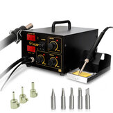 Yaogong 852D+ Hot Air Digital BAG Rework Soldering Station SMD Heater Soldering Iron