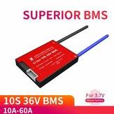 DALY DL10S 10S 36V BMS Batteria Scheda di protezione 15A 20A 30A 40A 50A BMS impermeabile 60A per litio ricaricabile Lifepo4 Batteria con funzione di bilanciamento
