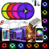 20M Waterproof SMD5050 240W Smart WiFi APP Control LED Strip Light Kit Work With Alexa AC110-240V Christmas Decorations Clearance Christmas Lights
