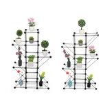 Metal Planta Prateleira Vaso de Flores para Jardim Interno Rack de Cozinha Organizador de Sapatos Economizadores de Armazenamento Decoração de Casa Para O Interior Ao Ar Livre