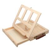 Стол художника Мольберт Искусство Рисование Живопись Эскиз дерева Коробка Настольный рабочий стол Главная