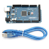 MEGA 2560 R3 ATmega2560 MEGA2560 Development Board With USB Cable Geekcreit for Arduino - products that work with official Arduino boards