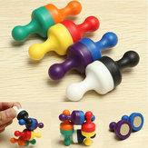 8 PCS Forte Magnética Pinos D19x25mm Ensino Poderoso Ímãs Brinquedos