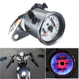 Motorcycle Dual Odometer Speedometermeter LED Backlight Signal Light