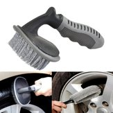 Car Tire Brush Car Wash Brush Removal Tool Curved Brush Car Tire