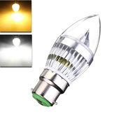 E27 E14 B22 E12 6W LEDシャンデリアキャンドルライト85-265V