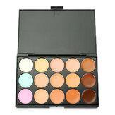 LuckyFine 15 Colors Professional Makeup Facial Concealer Palette Dark Shadow Beauty Cosmetic