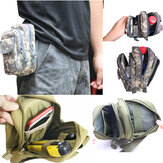 Molle PALS Waist Pack Belt Taille Bag Fishing Tools Taille Bag Pack