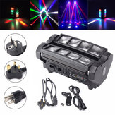 24W RGBW 4 IN 1 DMX512 LED Spider Beam Verhuizing Head Stage Verlichting DJ Party Disco