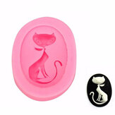 Kat Silicone Fondant Mould Cake Decorating Mould Gumpast Suikergoed Mould FDA LFGB