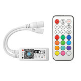 ARILUX® SL-LC 10 Super Mini LED WIFI APP Controller + RF Remote Control For RGBW LED Strip DC9-28V