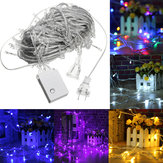 AC110V 20M 200LED Waterproof Fairy String Light Christmas Outdoor Wedding Party Lamp US Plug
