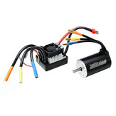 Racerstar 3660 Brushless Waterproof Sensorless Motor 80A ESC Pro 1/8 1/10 Short Course Rally Car