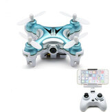 Eachine E10W Mini Wifi FPV 2.4G 4CH 6 assi LED RC Drone Quadcopter Con fotografica RTF (coupon sconto del 50%: BGE10WUS)