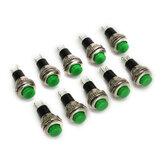 250v 1a 10 milímetros auto-resetting off / on interruptor botão nenhum bloqueio 10pcs DS-316 wendao