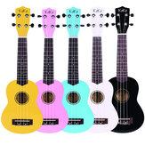 Enya KAKA 21 İnç Colorful Akustik Ukulele Uke 4 Strings Hawaii Gitar Guitarra Musica Enstrüman Çocuklar ve Müzik için Acemi
