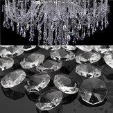 50Pz Cristalli di Vetro Trasparente Lampada a Sospensione Prismi Parti Appesi Cocce 18 MM
