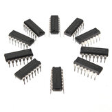 10st SN74HC14N 74HC14 IC-chip DIP-14 6 Invertting Schmitt-trigger