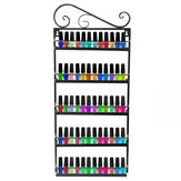 Five-layer Iron Storage Kitchen Rack Household Bathroom Arrangement for Sitting Room Receives