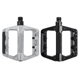 BIKIGHT 1 Pair Bicycle Mountain Bike Pedals Aluminum Alloy Platform DU Sealed Bearing MTB Bicycle Pedals Accessories