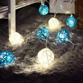 KCASA DSL-5 Tuinieren 5M 40LED String Light Ratten Vorm Holiday Garden Party Trouwdecoratie