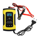 Enusic™ 12V 6A Pulse Repair LCD Battery Charger For Car Motorcycle Lead Acid Battery Agm Wet Gel