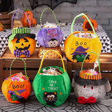 Children Halloween Style Pattern Casual Go Out Candy Sugar Carry Bag Handbag