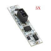 5 pcs XK-GK-4010A DC 12 V Não-contato Barreira Reflexiva Varredura de Distância Curta Sensor Interruptor One Em e One Off