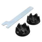 2pcs Blender Rubber Coupler Gear Clutch com Removal Tool para KitchenAid 9704230