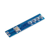 1S / 2S / 3S / 4S Single 3.7V 18650 Lithium Battery Capacity Indicator Module Percent Power Level Tester LED Display Board