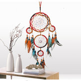 Estilo indio Dream Catchers colgantes decoraciones para la decoración del hogar Dream Catcher Colgante regalo Indian Dream Catcher decorativos adornos colgantes