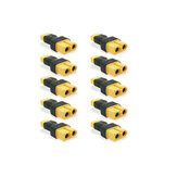 10Pcs XT30 Male to XT60 Female Adapter Battery Connector for RC Drone FPV Racing