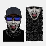 Impressão digital em 3D Variedade de esportes Capuz de equitação Máscara Capuz Bandana Balaclava Tubo no pescoço Tubo UV Resistente a secagem rápida Leve Materiais leves Ciclismo Poliéster Adultos