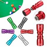 3'ü 1 arada Snooker Havuz Cue İpucu Parçalar Masa Tenisi Cue Aksesuarları Şekillendirici / Tapper / Havalandırıcı Bakım Bakımı Aletler Kit