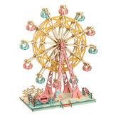 295 ШТ. 3D Деревянные Лазер Колесо Обрезки Мечты Трехмерные DIY Развивающие Игрушки Головоломки