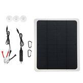 Chargeur de mainteneur de voiture de panneau solaire de 18V Batterie pour la moto de bateau de véhicule