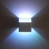 Moderne COB LED Wall Light Up Down Cube lamp voor binnen buiten