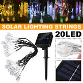 5M/6.5M/7M 2 Modes Outdoor LED Solar String Light Waterproof Starry Lamp Christmas Garden Lawn Decoration
