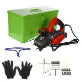 220V 1680W / 1100W Pialla elettrica per la lavorazione del legno Macchina da taglio per tagliare la macchina in legno massello