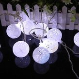 CSL-7 Gardening 5M 20LED String Light Snow Ball Shape Holiday Garden Party Decorazione di nozze