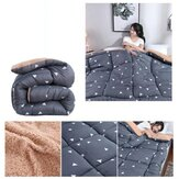 Blanket Warm Winter Quilt Soft Goose Down Full Size Comforter Thick Blanket for Home Textile Wool Filler