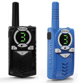 2pcs longue portée max 10 km talkie-walkie radio interphone portable enfant cadeau jouet