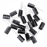 20Pcs High Frequency Low Impedance 25V 1000uF 10*13MM Aluminum Electrolytic Capacitor 1000uf 25v 25V1000uf