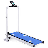 Multifunction LED Display Mini Folding Treadmill Fitness Home Sport Non-slip Running Belt Running Machine
