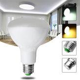 E27 B22 10W 5730 SMD Pure White Warm White Light Control LED Bulb Household Lamp AC85-265V