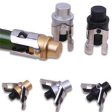 Stainless Steel Champagne Stopper Gold/Silver Sparkling Wine Bottle Plug Sealer Wings Design Wine Bottler Stoppers