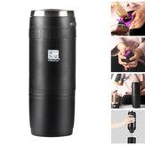 240MLKaffeemaschineimFreienMinitragbare elektrische Hand Punch Kaffeekanne