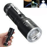 Elfeland 1201  T6 2000LM 5modes Zoomable LED Flashlight 18650/AAA