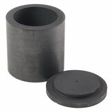 Multi-size High Purity Graphite Melting Crucible Casting With Lid Cover